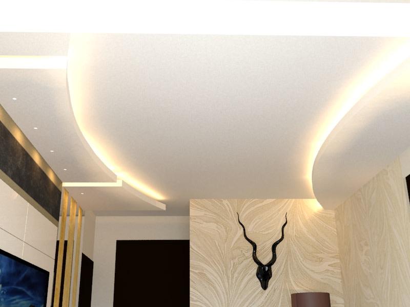 Contemporary False Ceiling by DezignCraft Interiors Modern Contemporary | Interior Design Photos & Ideas