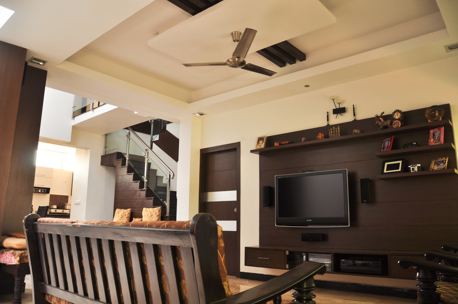 The Wooden Museum by Manasa Bharadwaj Living-room Contemporary | Interior Design Photos & Ideas