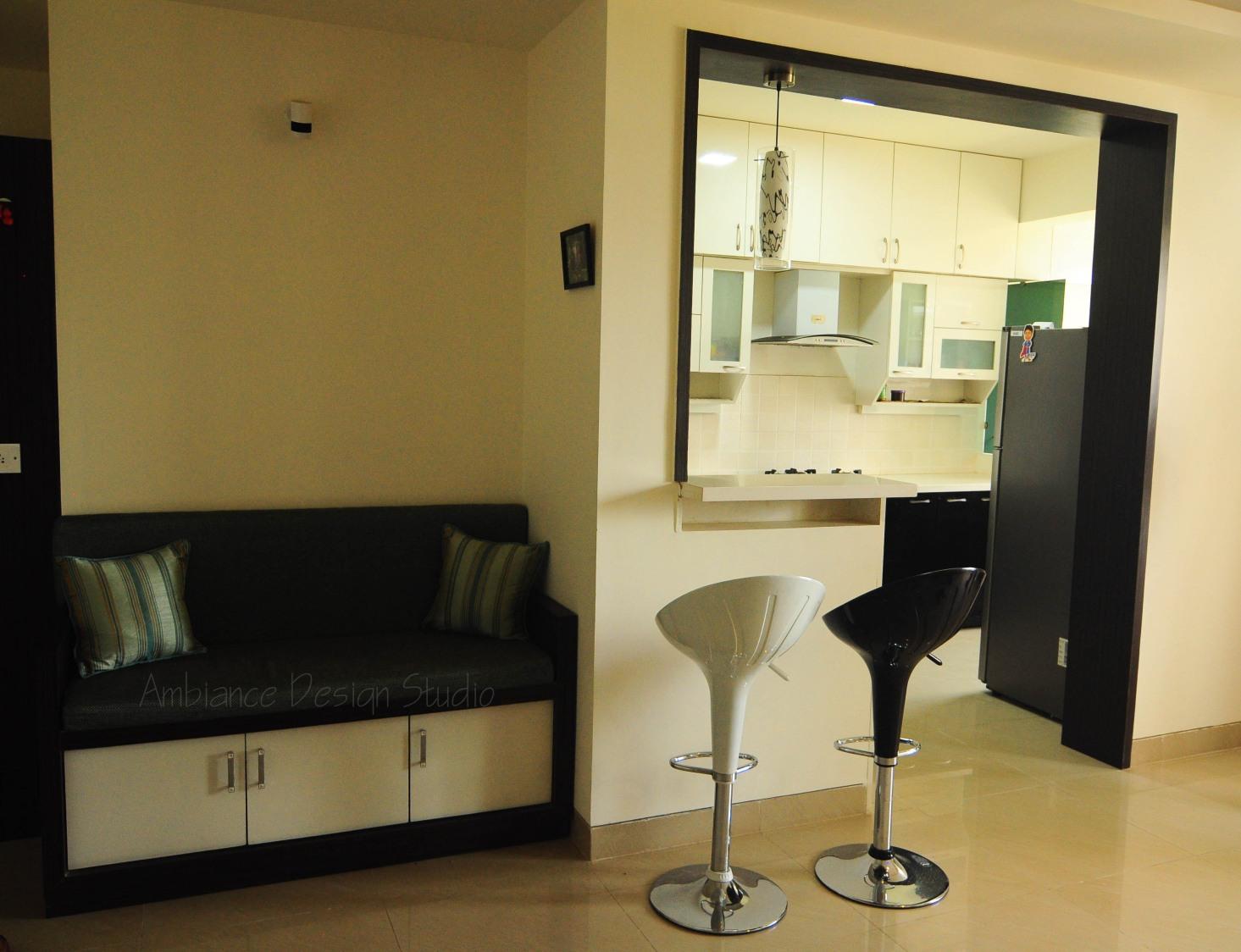 Monochrome Tones by Manasa Bharadwaj Living-room Contemporary | Interior Design Photos & Ideas