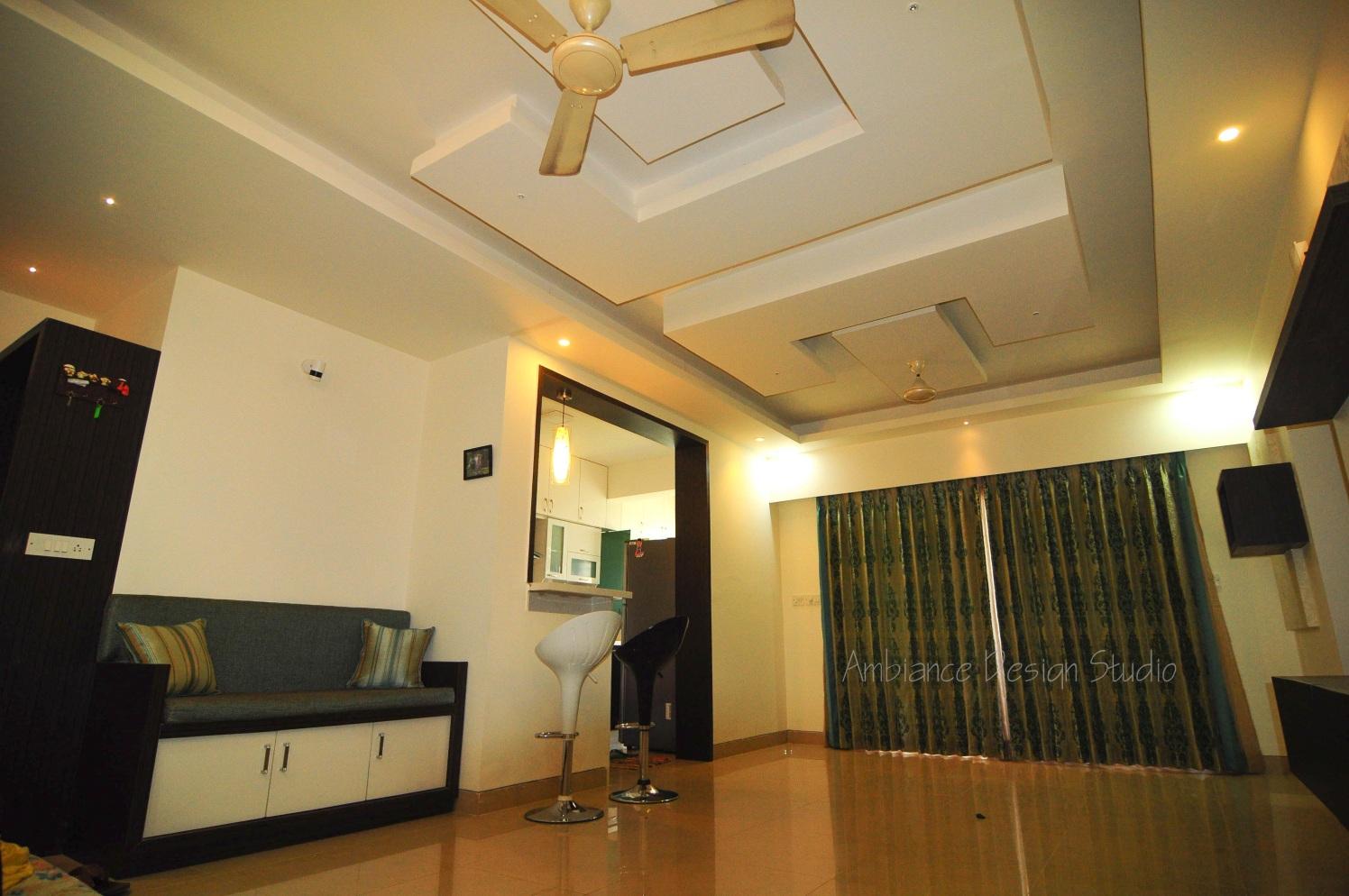 The Tones of Gray by Manasa Bharadwaj Living-room Contemporary | Interior Design Photos & Ideas