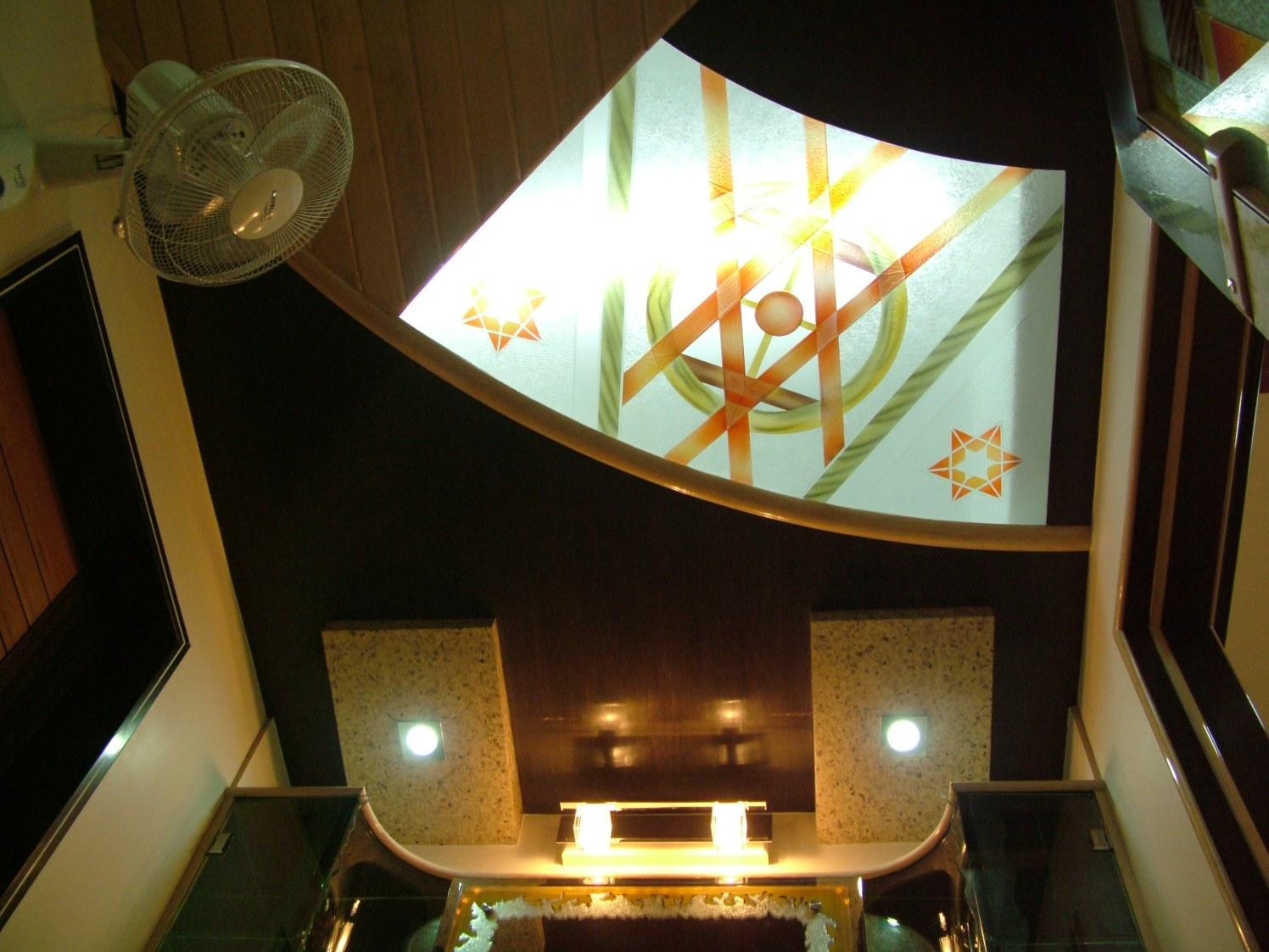 Contemporary Living Room Ceiling by Bhavin Shah Modern Contemporary | Interior Design Photos & Ideas