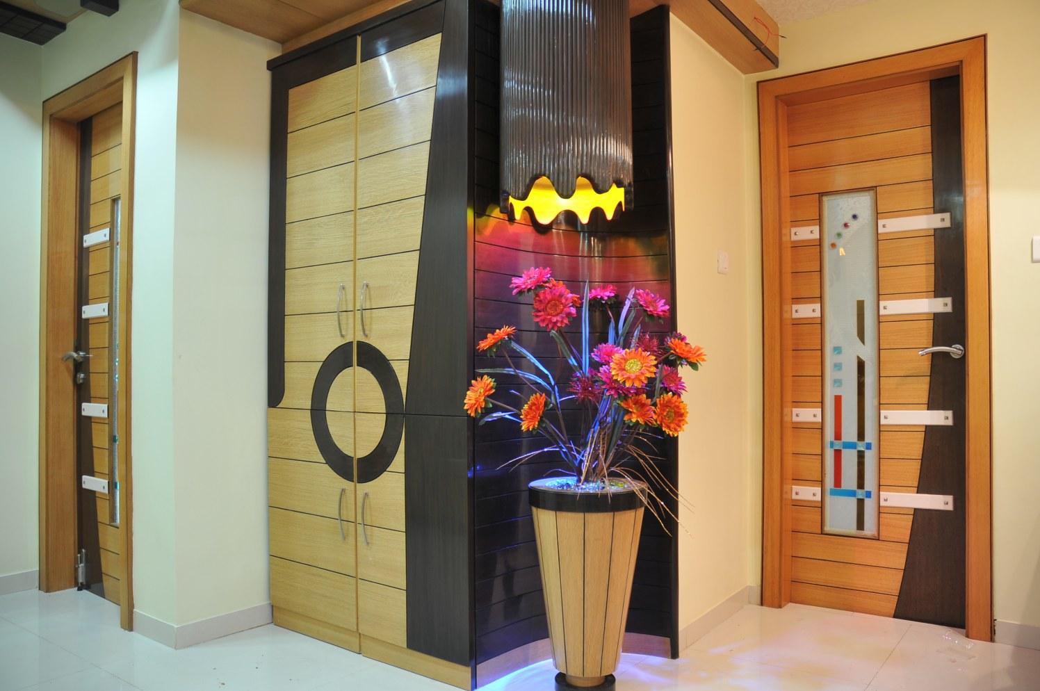 Modern Hallway by Bhavin Shah Modern | Interior Design Photos & Ideas
