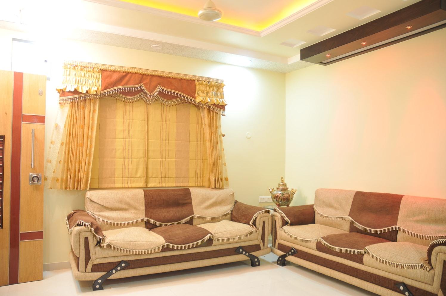 Modern  Living Room by Bhavin Shah Modern Contemporary | Interior Design Photos & Ideas