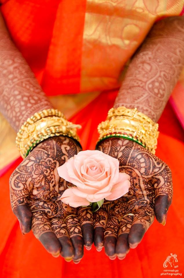 Blooming heena by Wedding Moments Wedding-photography | Weddings Photos & Ideas