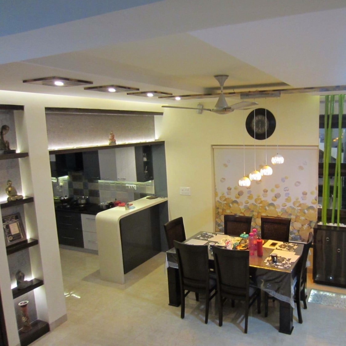 The Aerial View by Parveen Adhana Dining-room Contemporary | Interior Design Photos & Ideas
