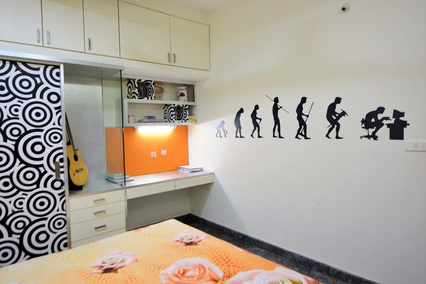 The Human Evolution by Parveen Adhana Bedroom Contemporary | Interior Design Photos & Ideas
