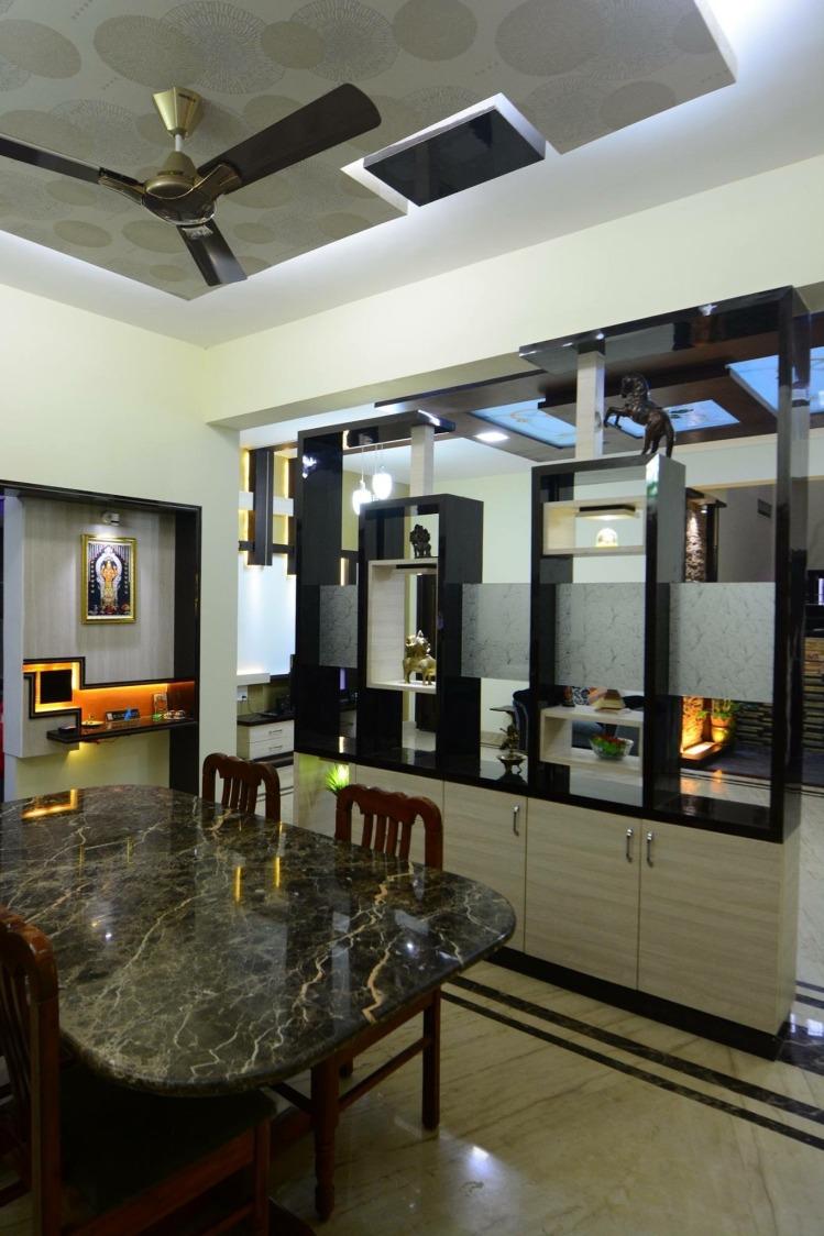 Grain Dining by Parveen Adhana Dining-room Modern | Interior Design Photos & Ideas