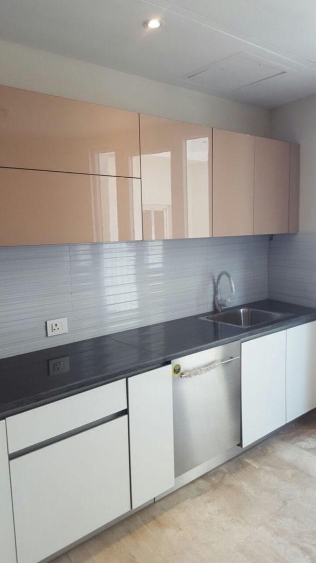 High Gloss Cabinets by Parveen Adhana Modular-kitchen Modern | Interior Design Photos & Ideas