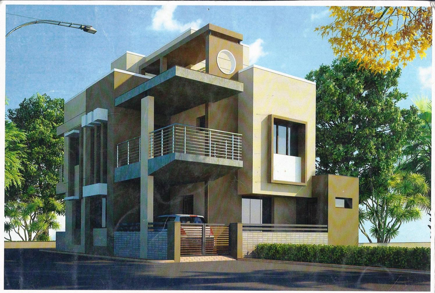 Modern Apartment by Dipen Trivedi Modern | Interior Design Photos & Ideas