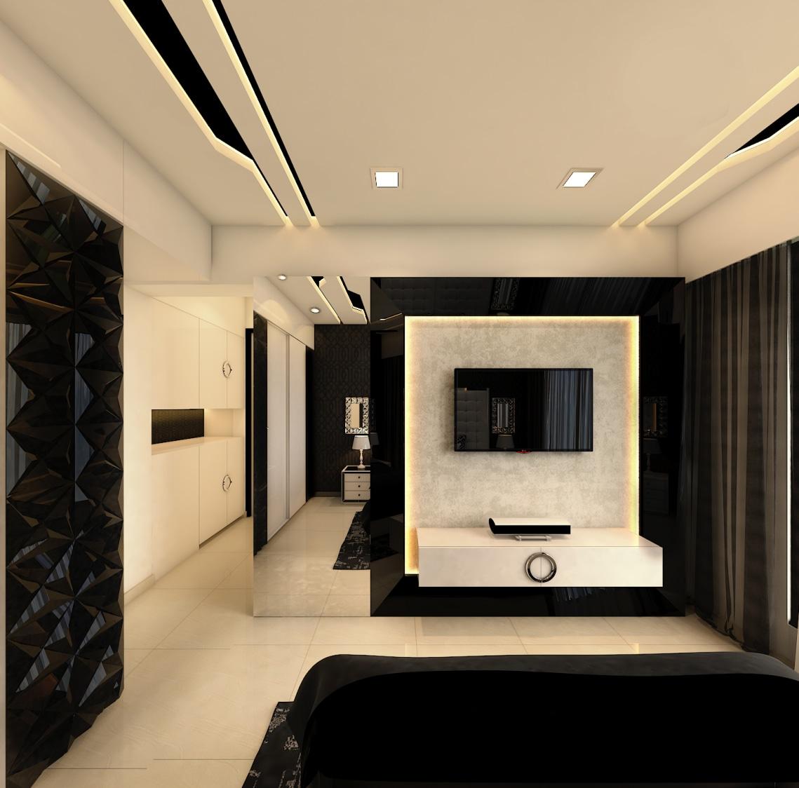 THE IMPERFECT SYMMETRY by Nidhi Rathod Contemporary | Interior Design Photos & Ideas