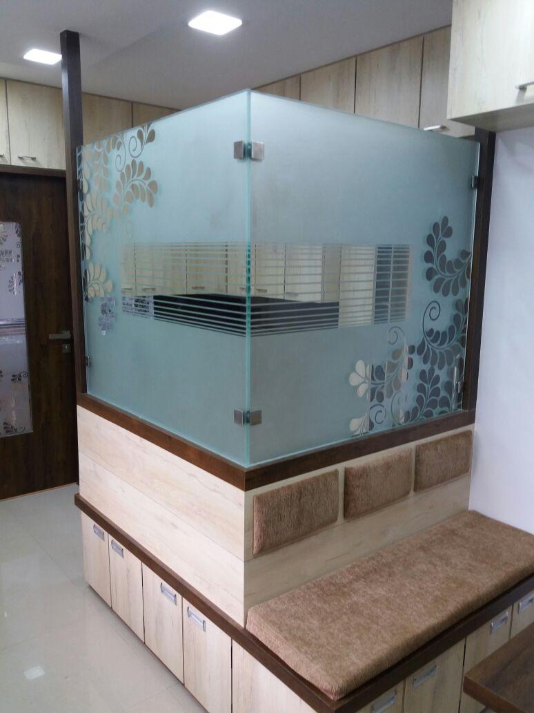 Workplace Floor by Nidhi Rathod Contemporary | Interior Design Photos & Ideas
