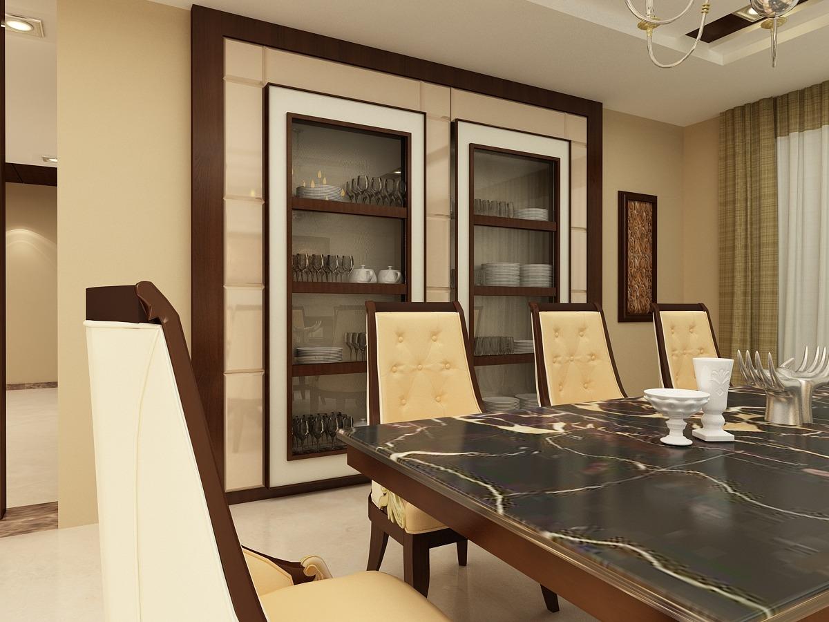 Contemporary Dining Space by Javid Contemporary | Interior Design Photos & Ideas