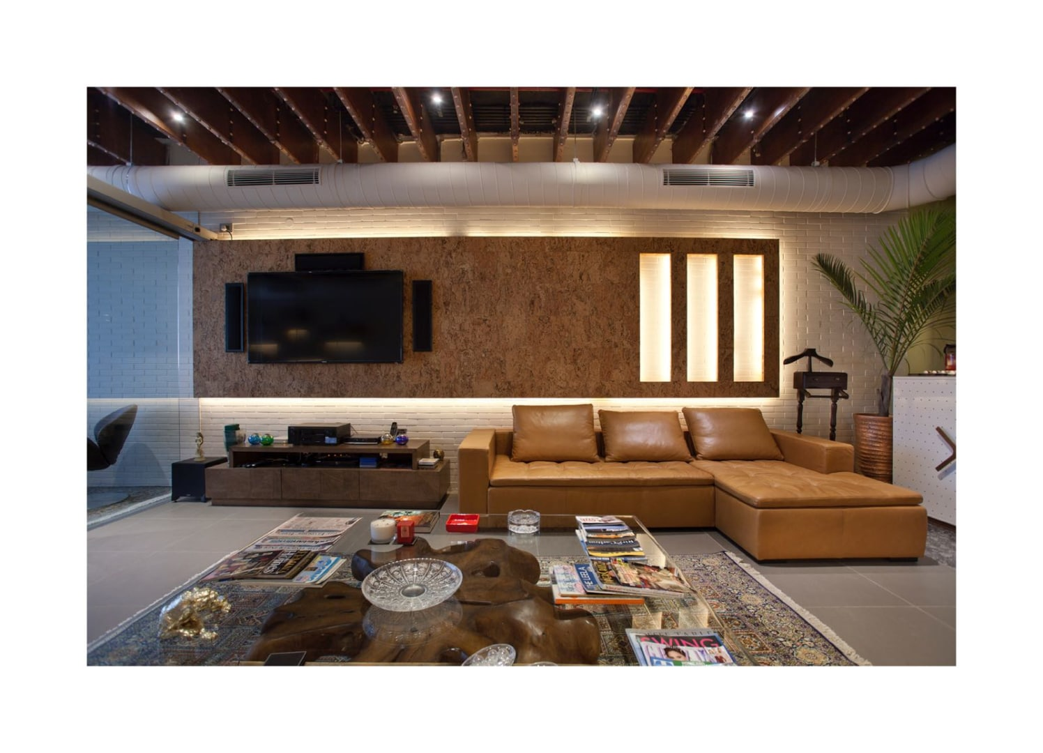 Contemporary Reception by Sushant Madan Contemporary | Interior Design Photos & Ideas