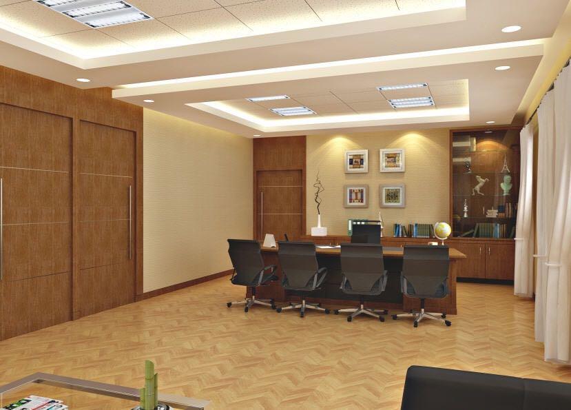 Contemporary Office Cabn by Sushant Madan Contemporary | Interior Design Photos & Ideas