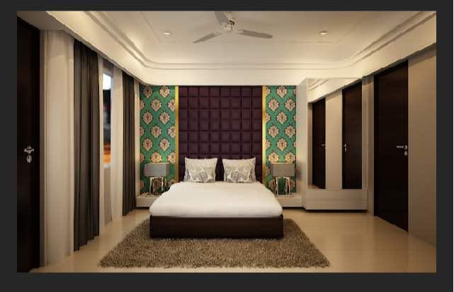 Contemporary master bedroom by Rakesh Dashpute Contemporary | Interior Design Photos & Ideas