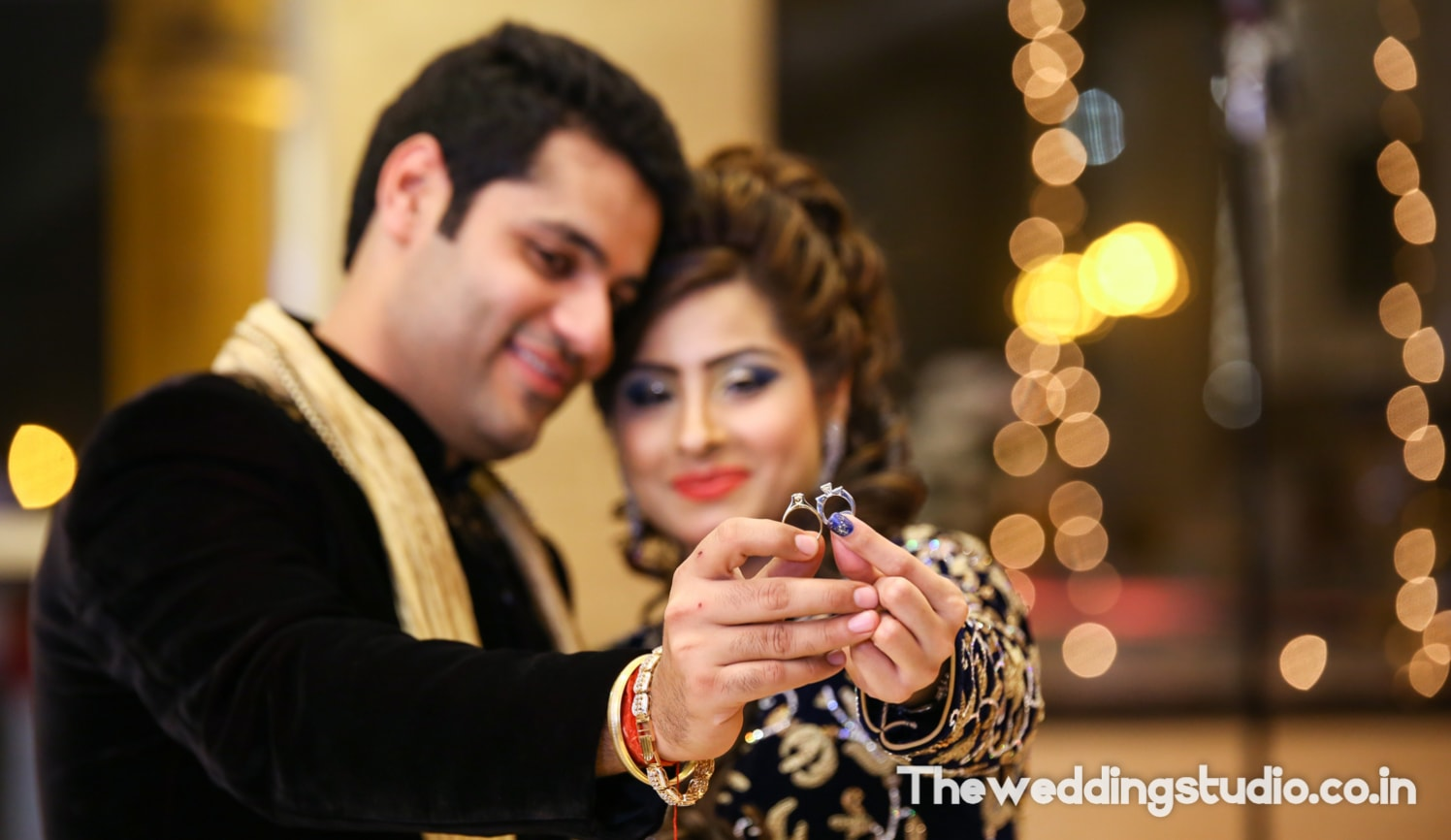 Flaunting their rings by THE WEDDING STUDIO Wedding-photography | Weddings Photos & Ideas