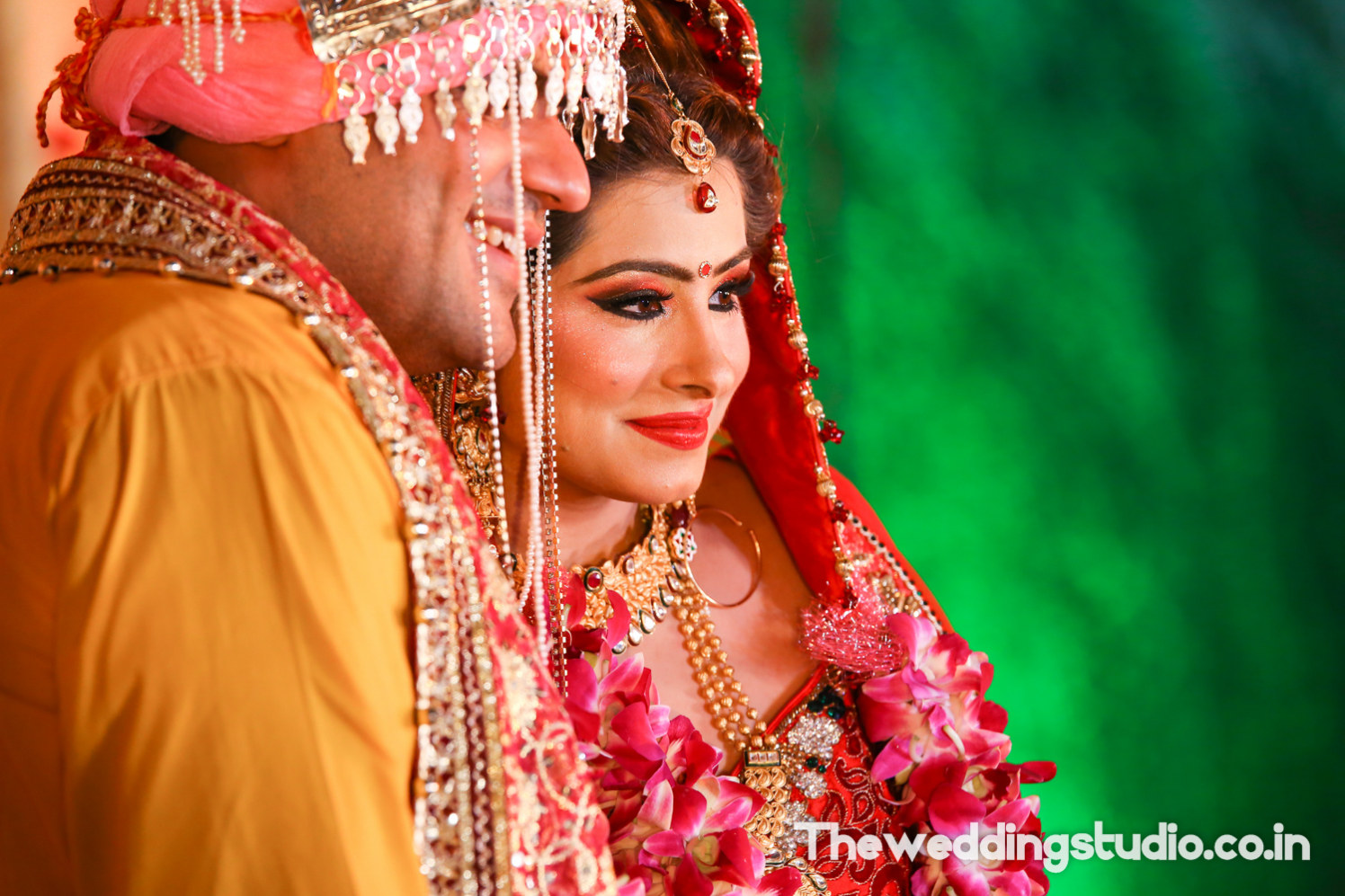 The winsome twosome by THE WEDDING STUDIO Wedding-photography Bridal-jewellery-and-accessories Bridal-makeup | Weddings Photos & Ideas