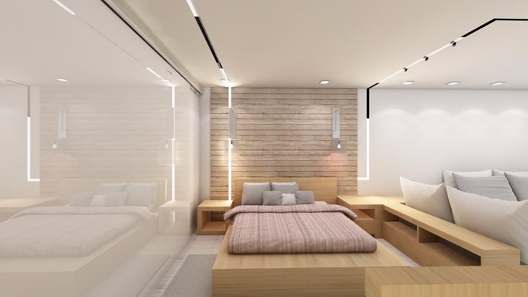 Minimalistic master bedroom by Mehak Dhawan