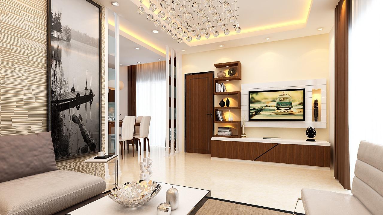 Contemporary Living Room by Ram PJ Modern Contemporary | Interior Design Photos & Ideas