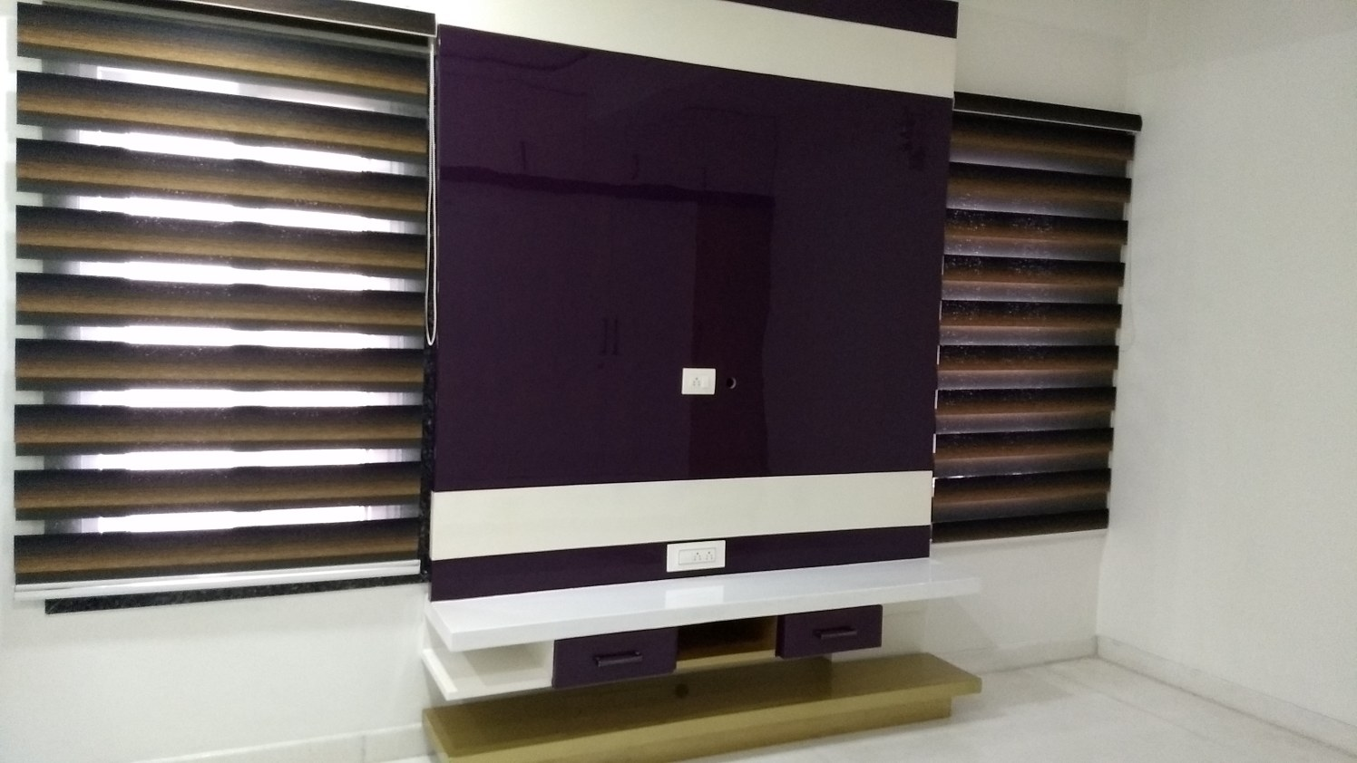 Modern TV Console by Ram PJ Modern | Interior Design Photos & Ideas