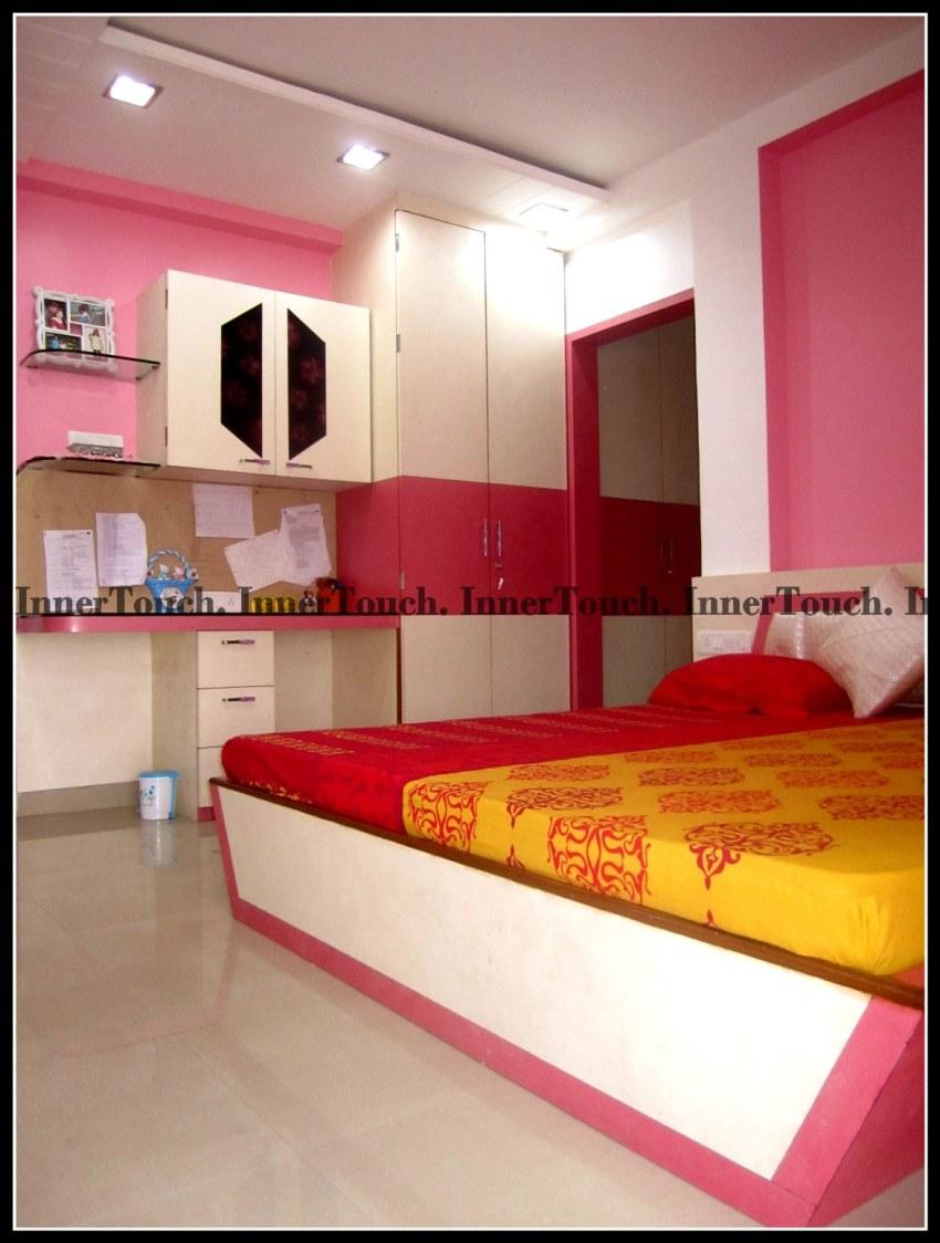 Shades of Pink by Jhumur Ghosh Chaki Modern | Interior Design Photos & Ideas