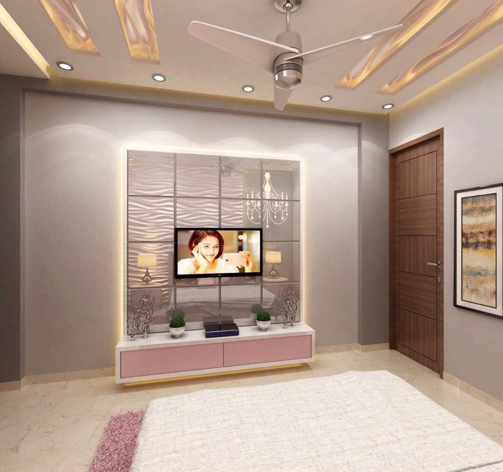 Formal style bedroom by Deepali Aggarwal Contemporary | Interior Design Photos & Ideas