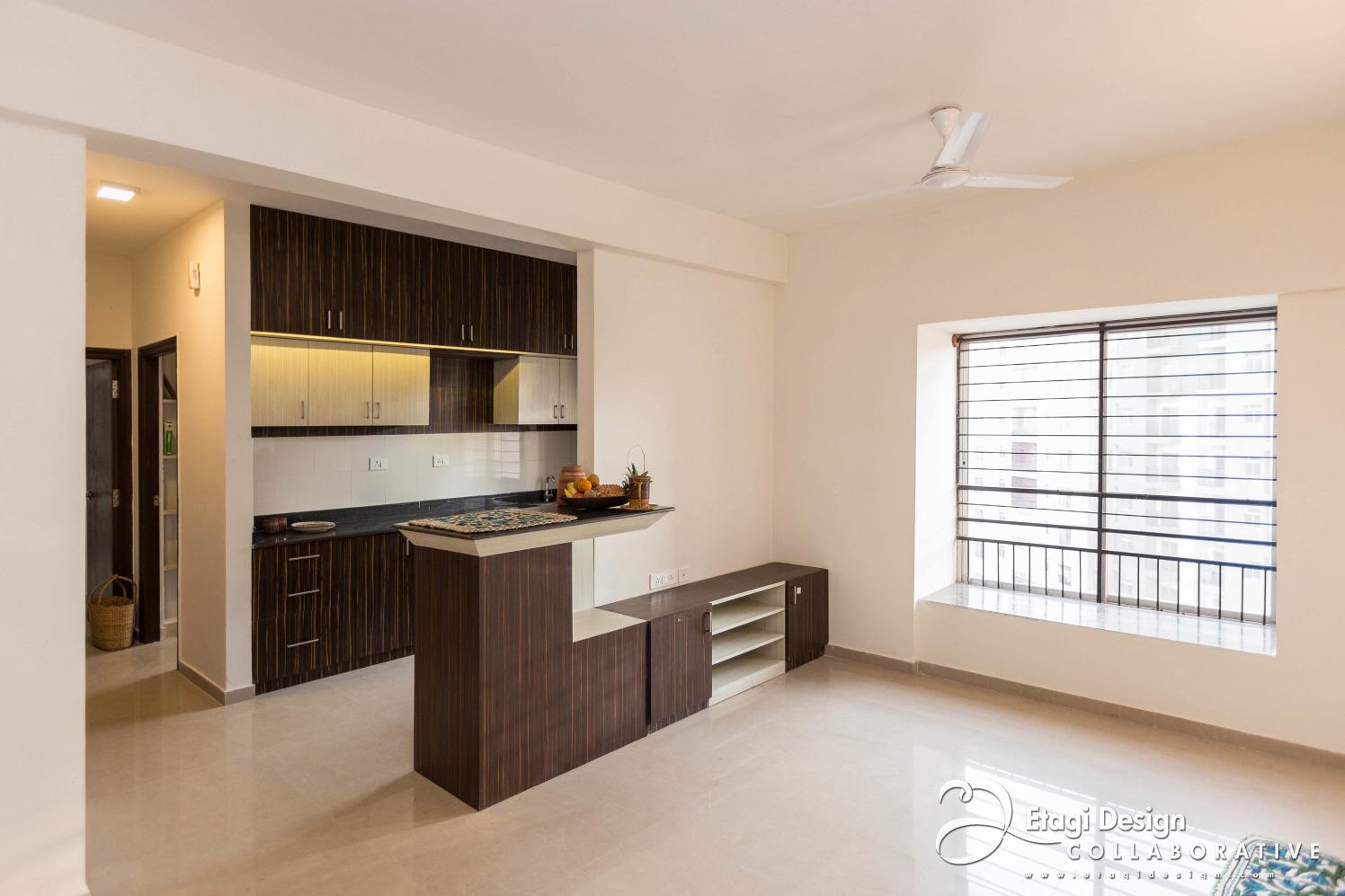 Modern Open Kitchen by Prashanth Nandiprasad Modern | Interior Design Photos & Ideas