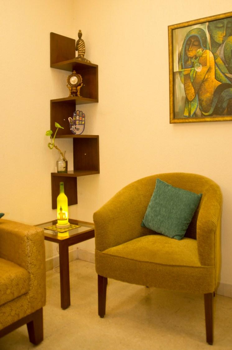 Retro style living by Diya Kochhar