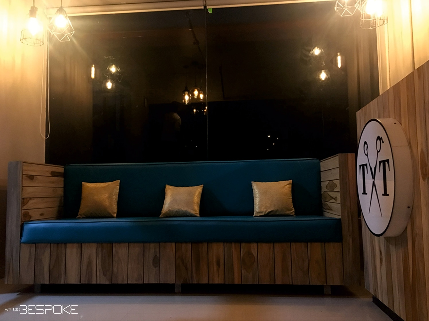 The Tinge of Blue by Riddhi Jani Modern | Interior Design Photos & Ideas