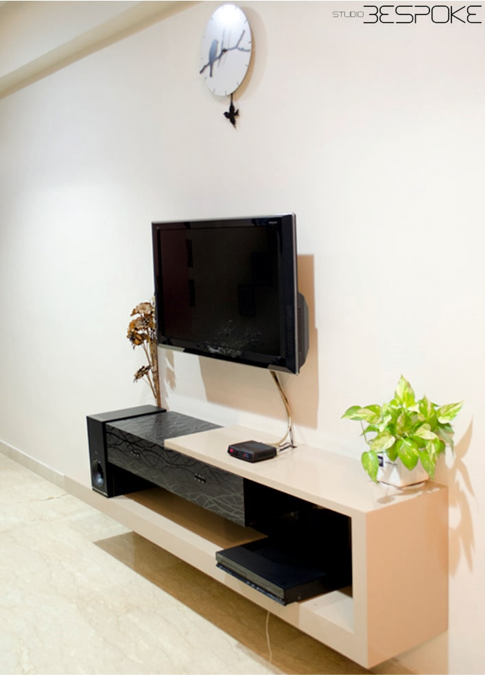 Floating Console by Riddhi Jani Modern | Interior Design Photos & Ideas