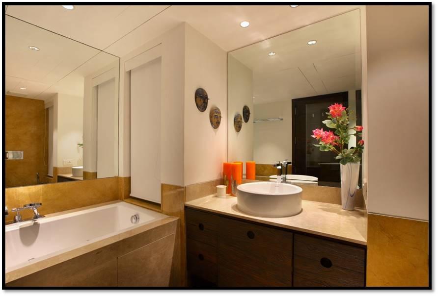 Captivating Reflection by Torn Born Bathroom Contemporary   Interior Design Photos & Ideas