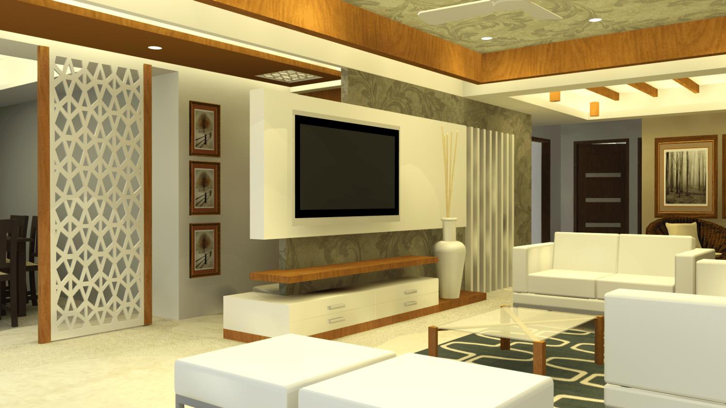Contemporary living room by Sunil Sathe Contemporary | Interior Design Photos & Ideas