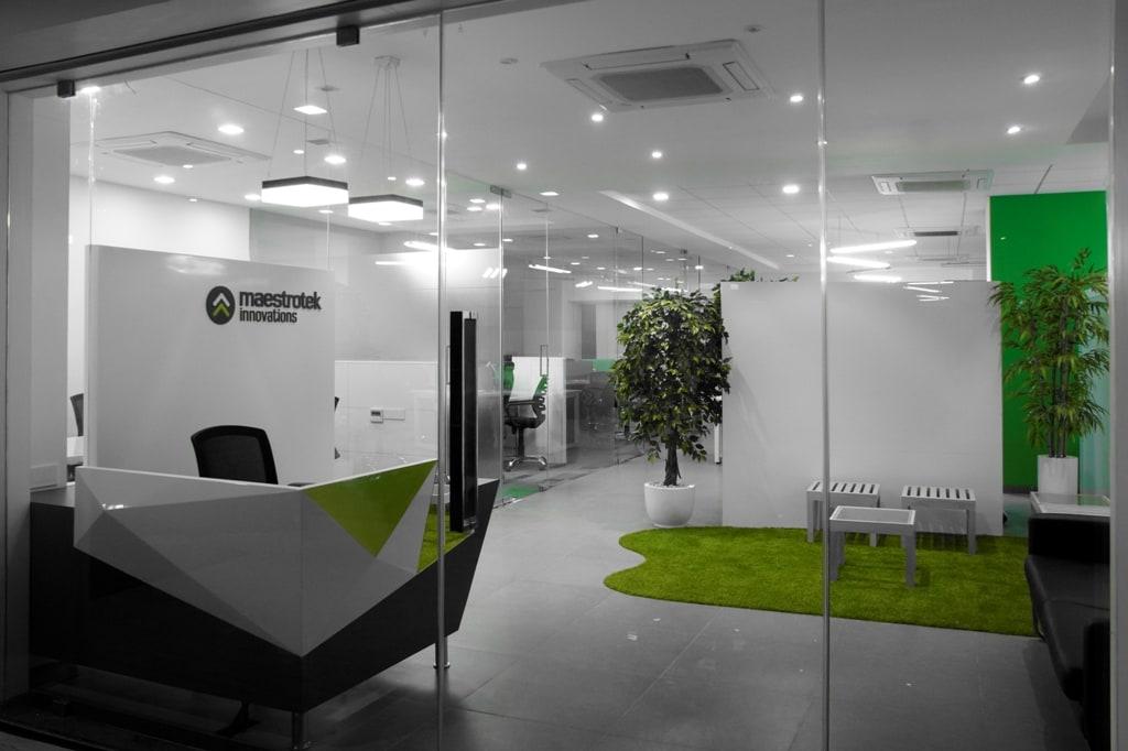Modern office entrance by Sunil Sathe Modern Contemporary | Interior Design Photos & Ideas