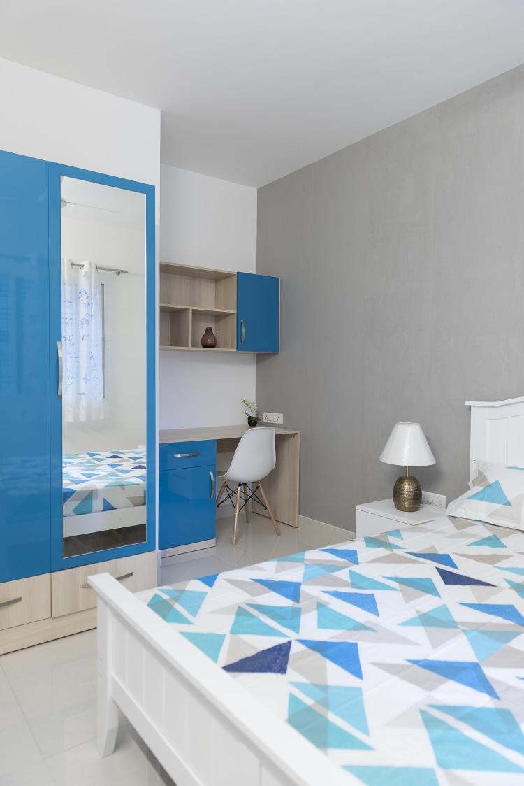 The Blue Room by HomeLane Modern | Interior Design Photos & Ideas
