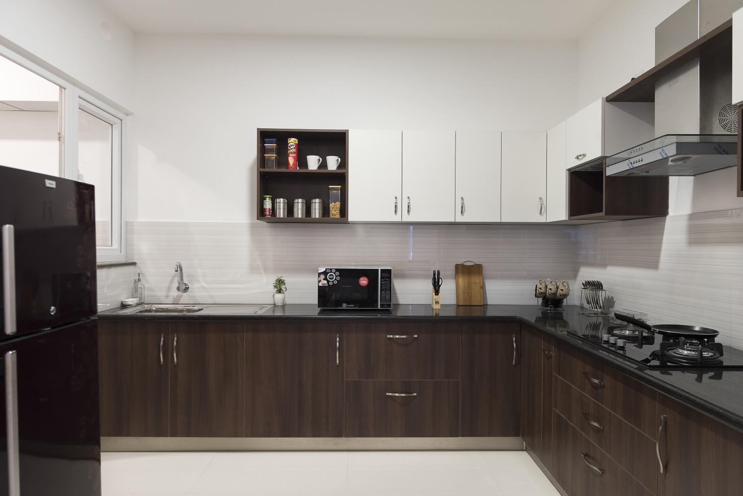 The Neutrals Inspired by HomeLane Modern | Interior Design Photos & Ideas