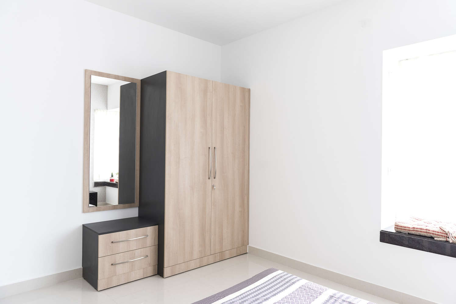 The Storage Corner by HomeLane Modern | Interior Design Photos & Ideas