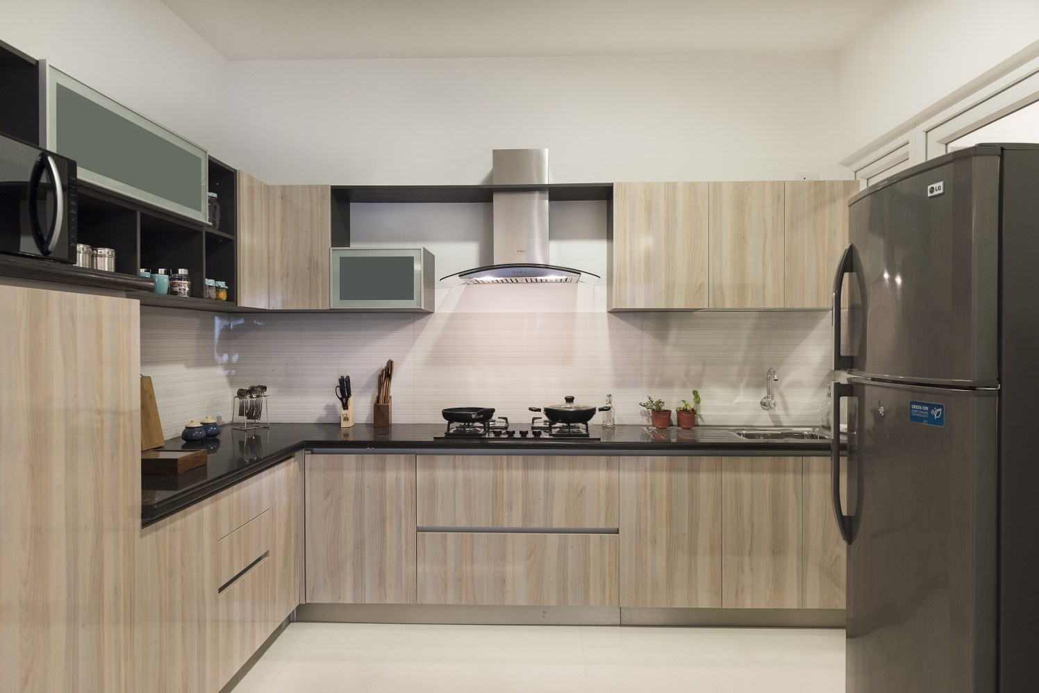 The Natural Splendor by HomeLane Modular-kitchen Modern | Interior Design Photos & Ideas