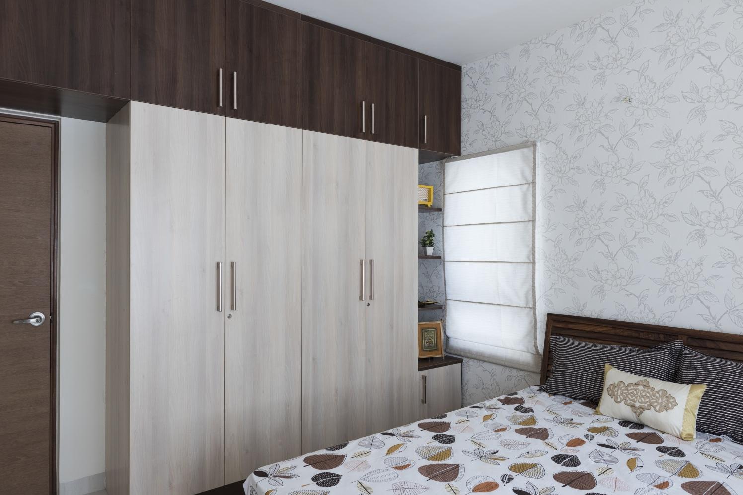 The Veneer Shine by HomeLane Bedroom Contemporary | Interior Design Photos & Ideas