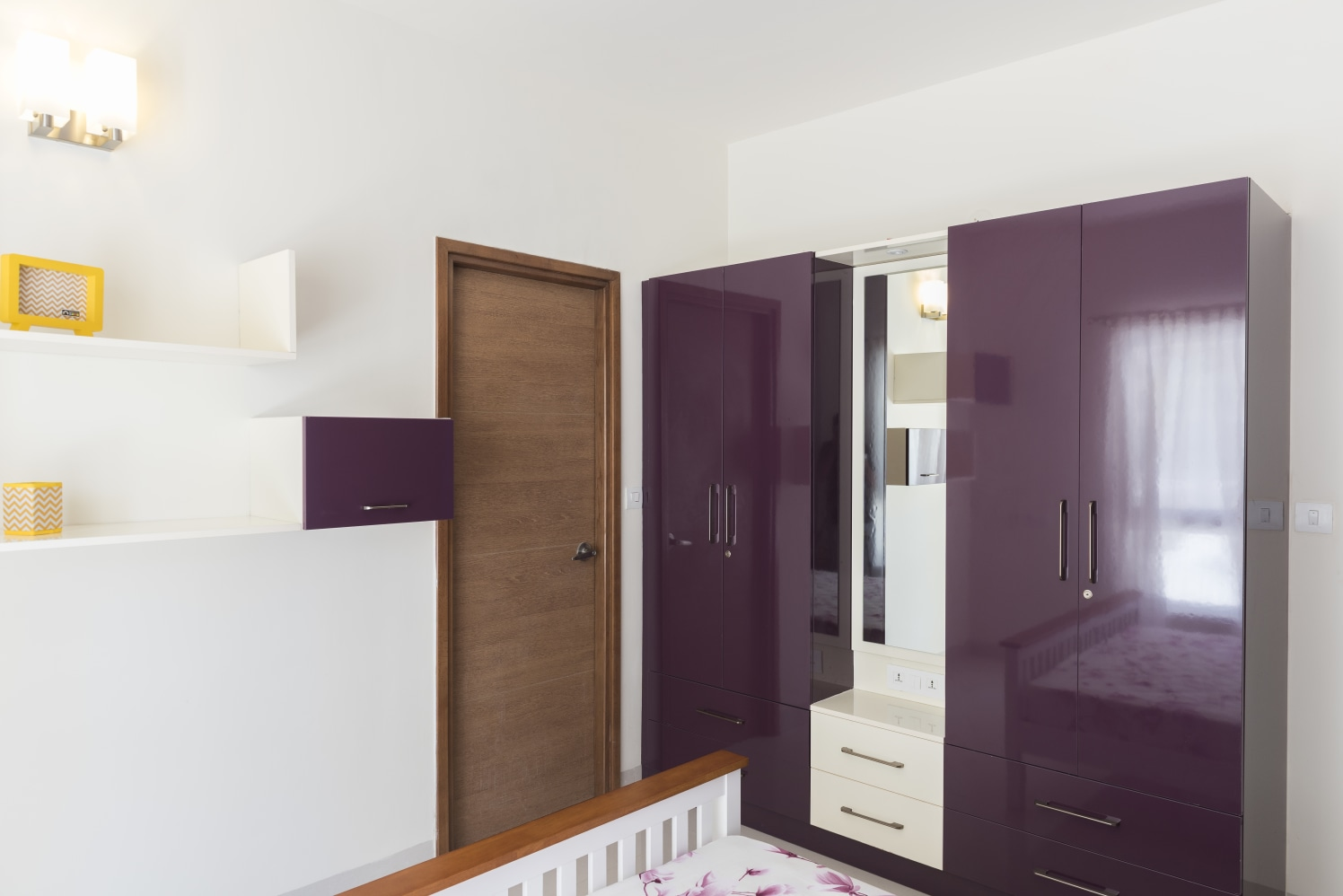 The Purple Door by HomeLane Bedroom Modern | Interior Design Photos & Ideas