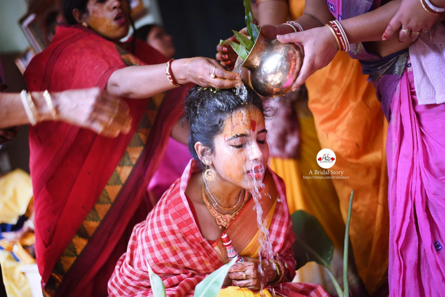 Immersed in the holiness! by A Bridal Story Wedding-photography   Weddings Photos & Ideas