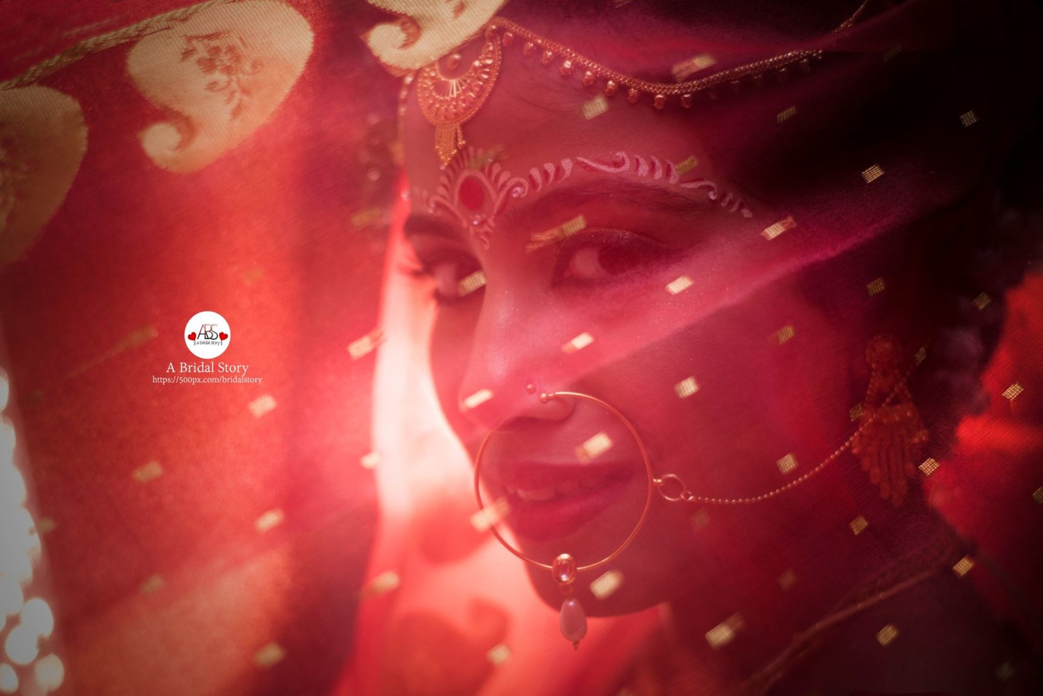 Rosy concealment by A Bridal Story Wedding-photography | Weddings Photos & Ideas