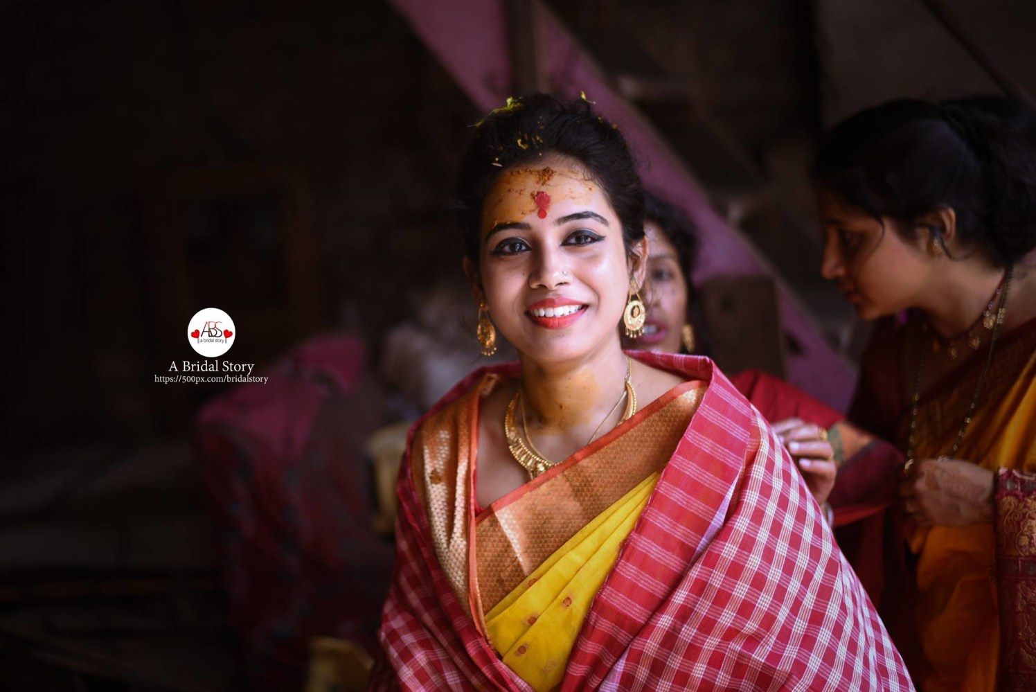 Resplendent smile by A Bridal Story Wedding-photography | Weddings Photos & Ideas