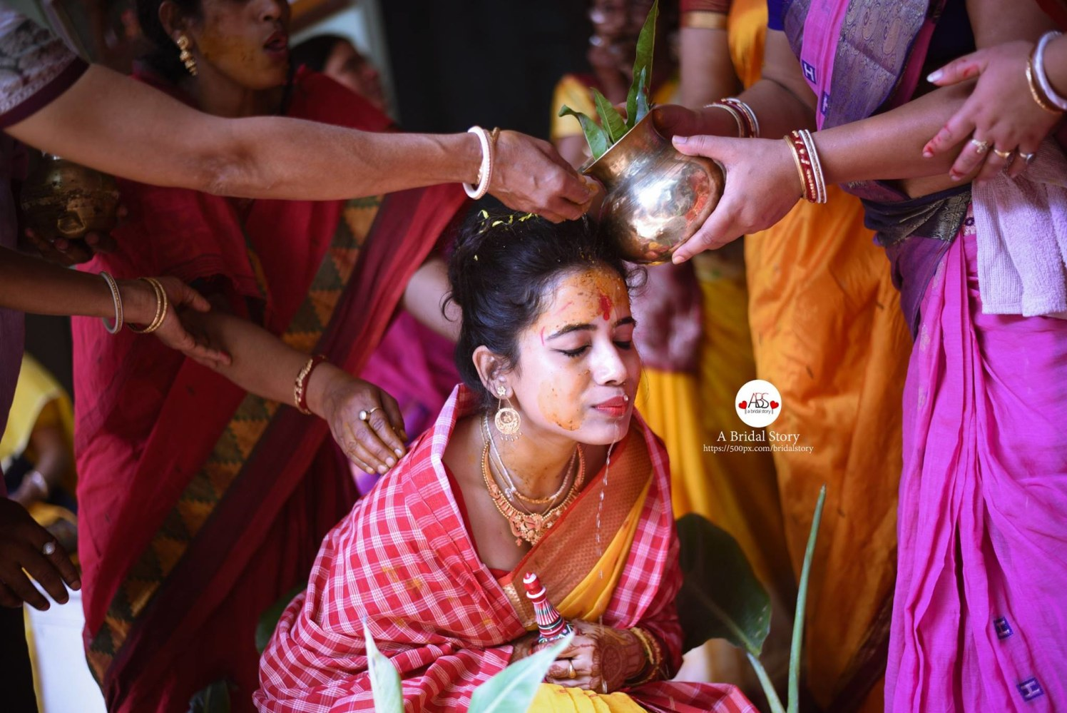 The bliss of holiness by A Bridal Story Wedding-photography | Weddings Photos & Ideas