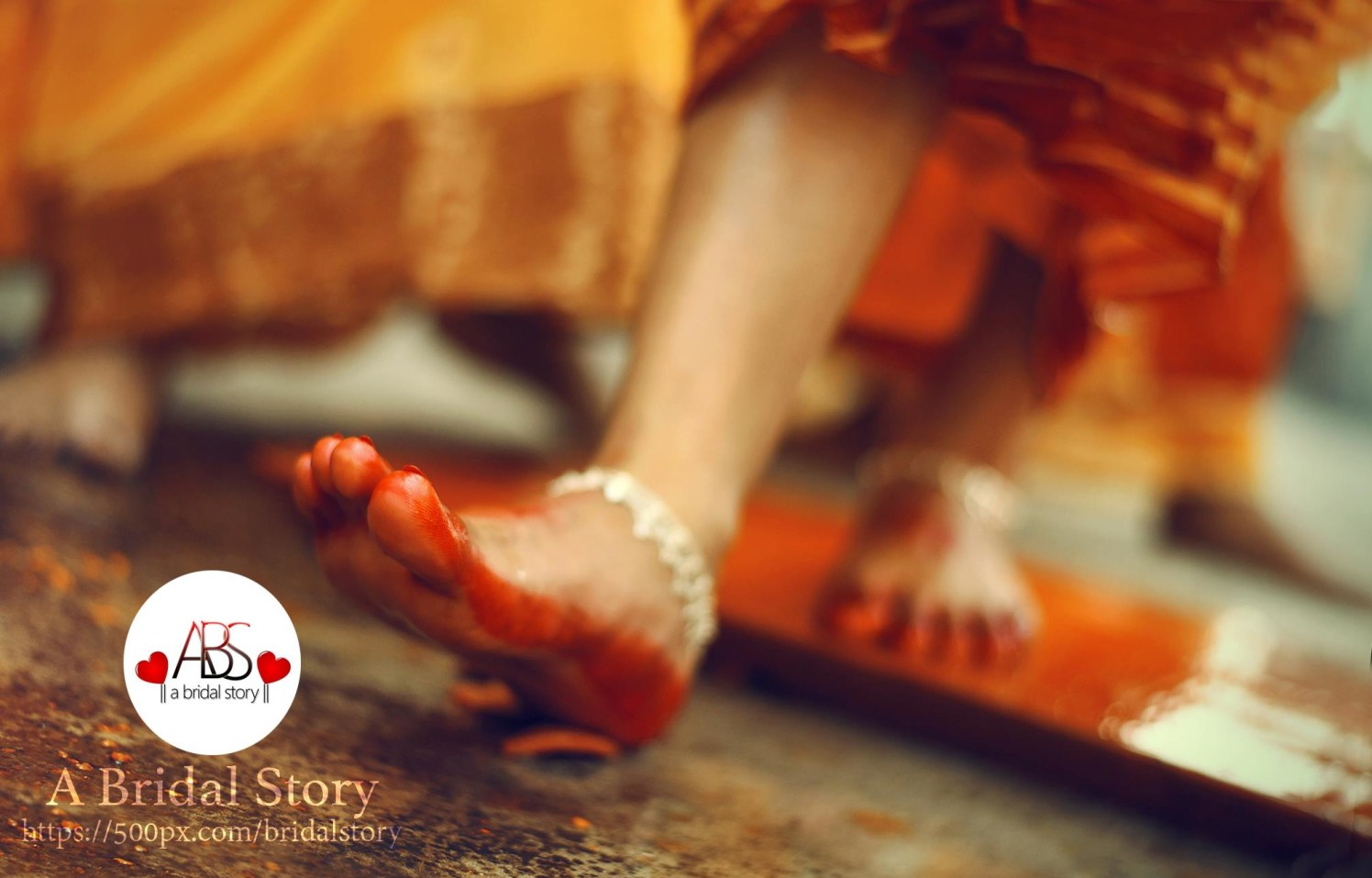 Traditional stepping by A Bridal Story Wedding-photography | Weddings Photos & Ideas