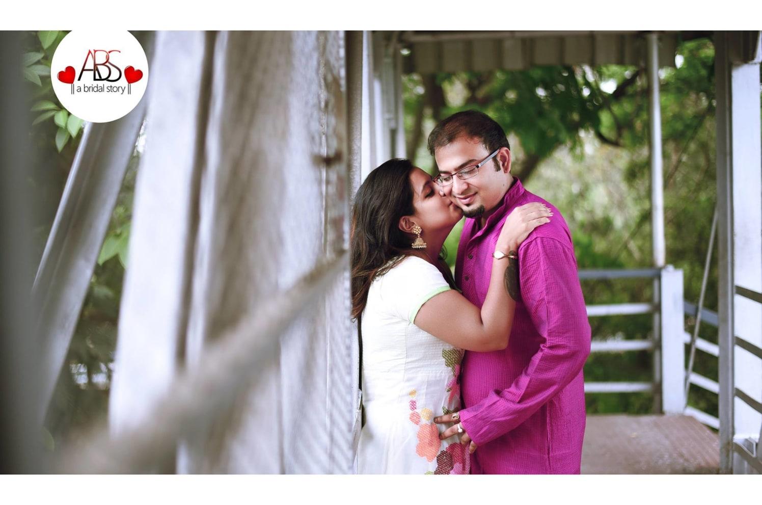Kiss of trust by A Bridal Story Wedding-photography | Weddings Photos & Ideas