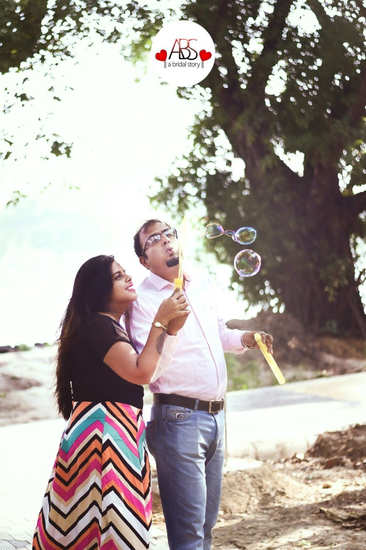 Blowing the bubbles of love! by A Bridal Story Wedding-photography | Weddings Photos & Ideas