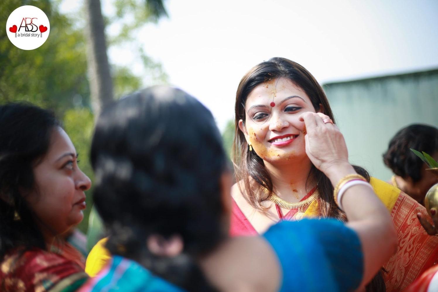 Haldi's laudation by A Bridal Story Wedding-photography | Weddings Photos & Ideas