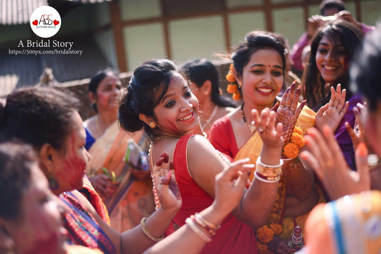 Immense cheer by A Bridal Story Wedding-photography | Weddings Photos & Ideas