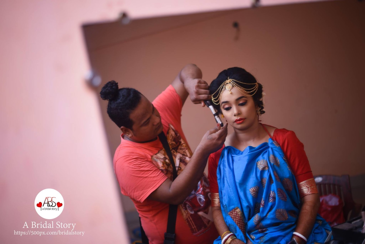 Hairdo with perfection by A Bridal Story Wedding-photography | Weddings Photos & Ideas