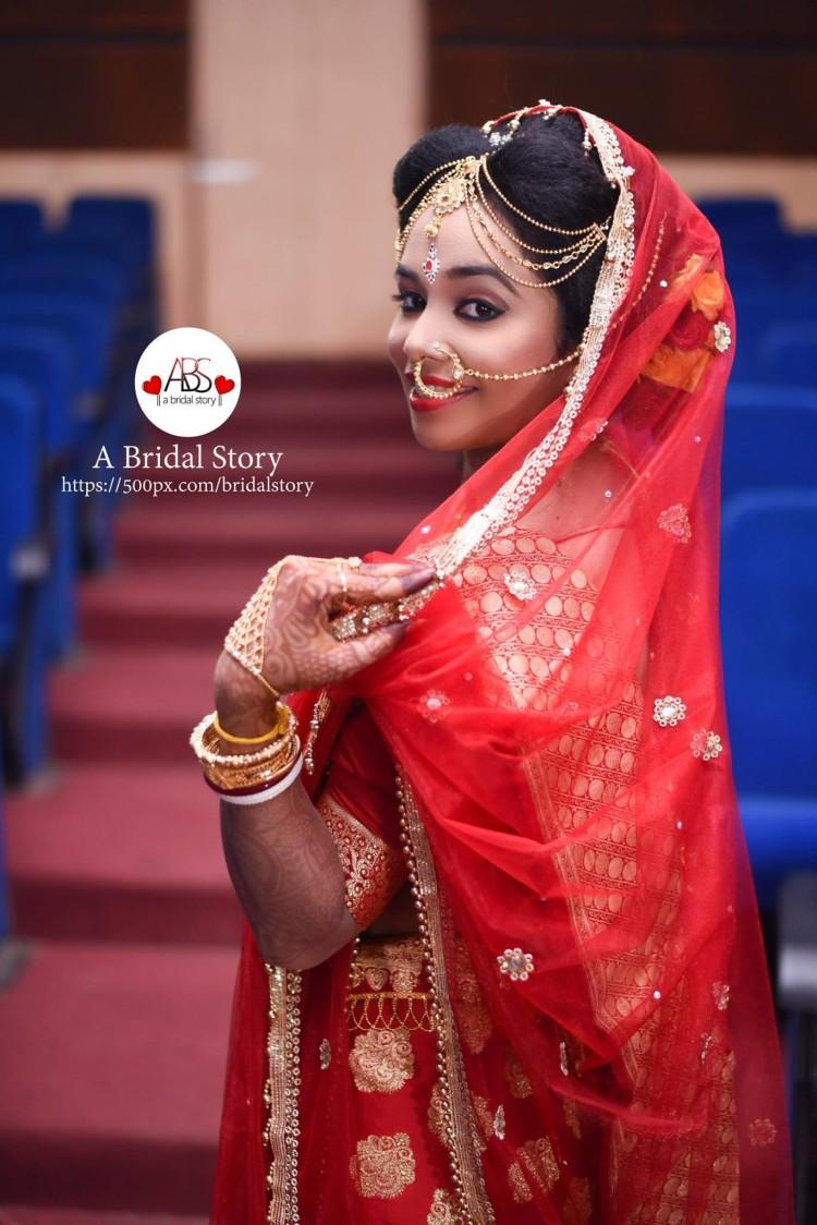 Exquisite bridal gaze by A Bridal Story Wedding-photography   Weddings Photos & Ideas